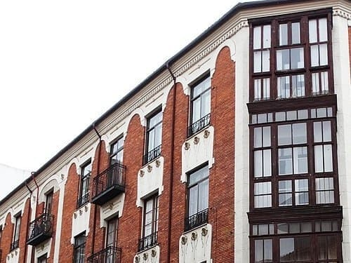 fachada de un edificio de valladolid