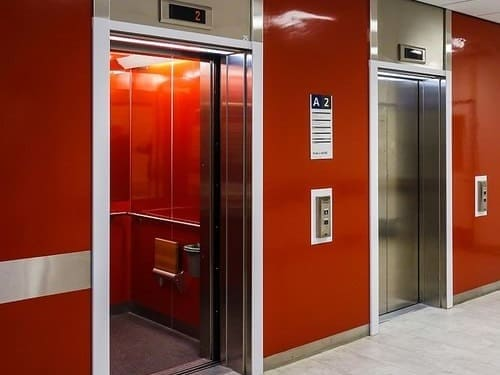 ascensores de una comunidad
